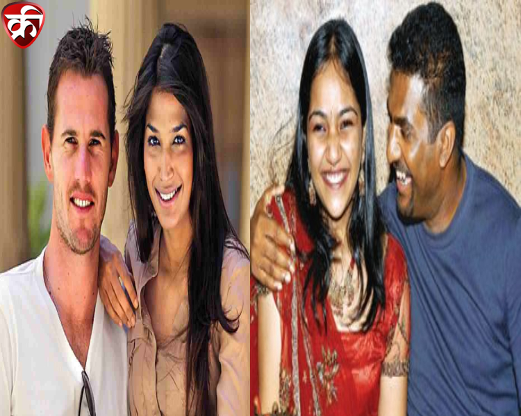 Foreign Cricketers and their Indian spouses